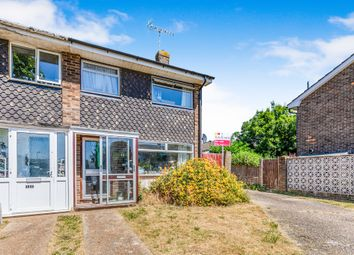 Thumbnail 2 bed end terrace house for sale in Shadwells Close, Lancing