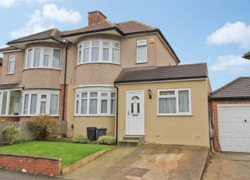 Thumbnail 3 bed semi-detached house for sale in Linden Avenue, Ruislip