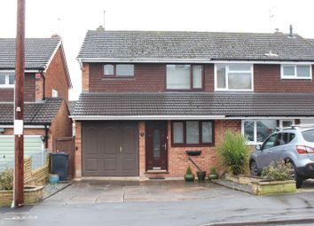 Thumbnail 3 bed semi-detached house for sale in Seaton Place, Wordsley, Stourbridge