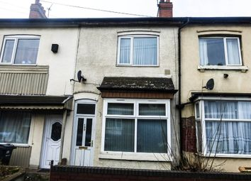 Thumbnail 3 bedroom terraced house to rent in Tame Road, Witton, Birmingham