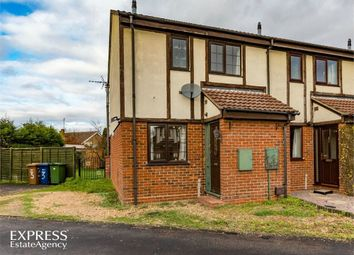 Thumbnail 2 bed end terrace house for sale in Drivers Close, Doddington, March, Cambridgeshire