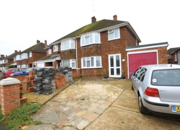 Thumbnail 3 bed semi-detached house to rent in Selsdon Avenue, Woodley, Reading