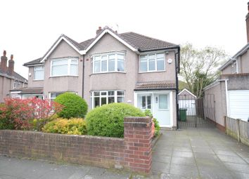 Thumbnail 3 bed semi-detached house for sale in Beechfield Road, Calderstones, Liverpool