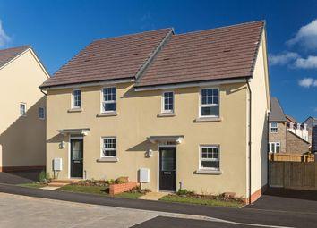 "Thumbnail 3 bedroom semi-detached house for sale in ""Barwick"" at Tiverton Road, Cullompton"