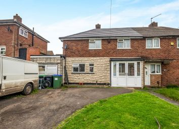 Thumbnail 3 bed semi-detached house for sale in California Road, Tividale, Oldbury, West Midlands