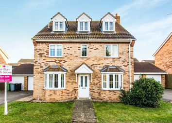 Thumbnail 5 bedroom detached house for sale in Mercia Drive, Ancaster, Grantham