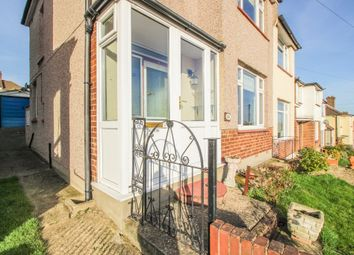 Thumbnail 3 bed semi-detached house for sale in Duncroft, London
