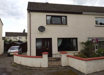 Thumbnail 2 bed semi-detached house to rent in Househill Terrace, Nairn