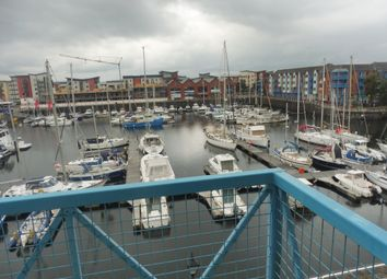 Thumbnail 2 bedroom flat to rent in Weavers House, Maritime Quarter, Swansea