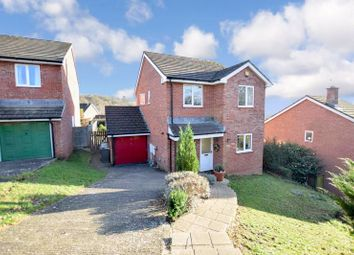 Thumbnail 4 bed detached house for sale in Linnet Close, Exeter