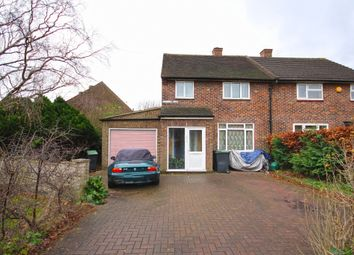 Thumbnail 2 bed semi-detached house for sale in Durnell Way, Loughton