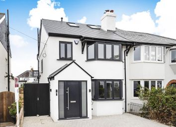 Thumbnail 4 bed semi-detached house for sale in Melrose Gardens, Hersham