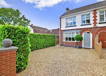 Thumbnail 3 bed semi-detached house for sale in Woodside, Rainham, Kent