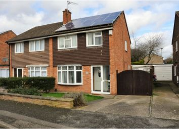 Thumbnail 3 bedroom semi-detached house for sale in Brookdale Road, Leicester