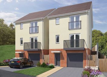 "Thumbnail 3 bed semi-detached house for sale in ""The Newark"" at Vicarage Hill, Kingsteignton, Newton Abbot"