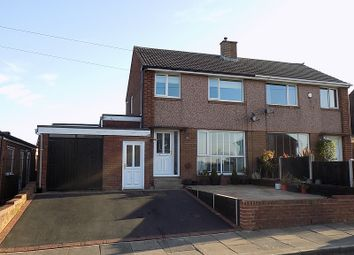 Thumbnail 3 bed semi-detached house for sale in 36 High Meadow, Carlisle