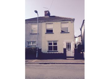 Thumbnail 3 bed semi-detached house for sale in Downing Street, Newport