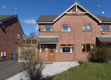 Thumbnail Semi-detached house for sale in Abbeyfields, Wigan