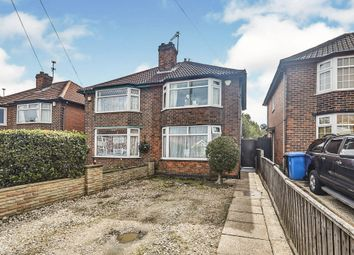 Thumbnail 2 bed semi-detached house for sale in Balfour Road, Pear Tree, Derby