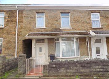 Thumbnail 3 bed terraced house for sale in Penbryn Road, Skewen, Neath