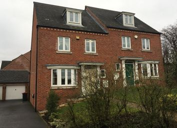Thumbnail 4 bedroom semi-detached house for sale in Pippin Close, Selston, Nottingham