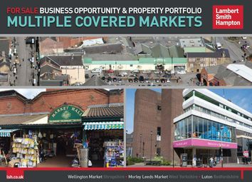 Thumbnail Retail premises for sale in Luton Indoor Market, The Mall Shopping Centre, Luton, Bedfordshire