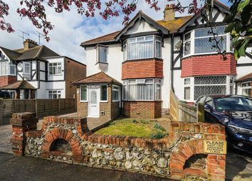 Thumbnail 3 bed end terrace house for sale in Balcombe Avenue, Worthing, West Sussex