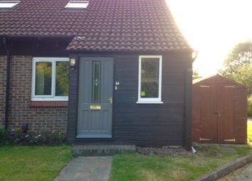Thumbnail 1 bed semi-detached house to rent in Willowmead Close, Goldsworth Park, Woking, Surrey