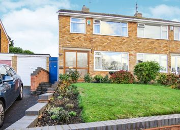 Thumbnail 3 bedroom semi-detached house for sale in Sanvey Lane, Old Aylestone, Leicester