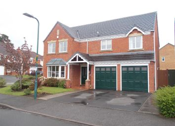 Thumbnail 4 bed detached house for sale in Napoleon Drive, Bicton Heath, Shrewsbury