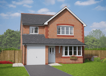 Thumbnail 3 bed detached house for sale in Village Road, Northop Hall Parc St. Mary's