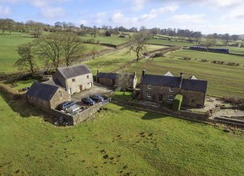 Thumbnail 4 bed farmhouse for sale in Warslow, Buxton