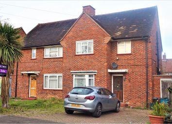 Thumbnail 3 bed semi-detached house for sale in Coleridge Road, Croydon