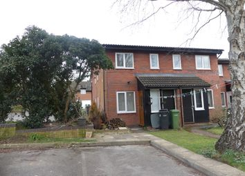 Thumbnail 1 bed end terrace house to rent in Harbourne Gardens, West End, Southampton