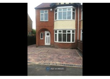 Thumbnail 3 bed semi-detached house to rent in Charlbury Road, Nottingham