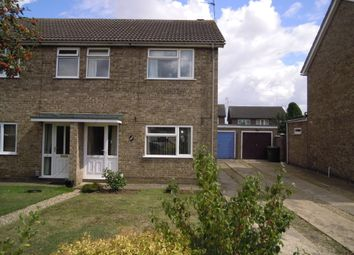 Thumbnail 3 bedroom property to rent in Borrowdale Close, Peterborough