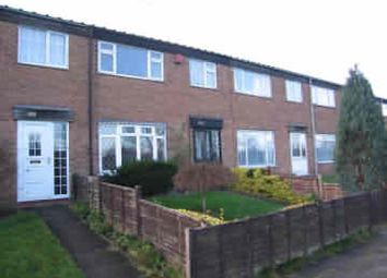 Thumbnail 3 bed terraced house to rent in Lakeside Walk, Brookvale Estate, Birmingham