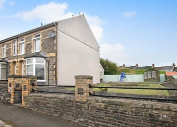 Thumbnail 3 bed semi-detached house for sale in Maes-Y-Graig Street, Gilfach, Bargoed, Caerphilly Borough