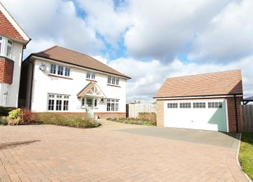 Thumbnail 4 bed detached house for sale in Windmill Crescent, East Leake, Leicestershire