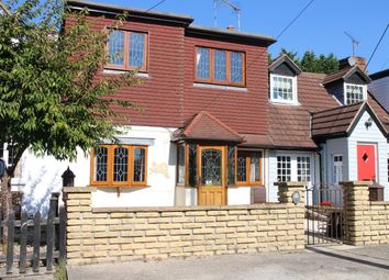 Thumbnail 3 bed terraced house for sale in Frog Street, Kelvedon Hatch, Brentwood