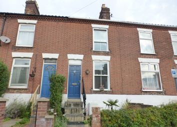 Thumbnail 2 bedroom terraced house for sale in Wodehouse Street, Norwich