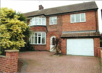 Thumbnail 5 bed semi-detached house for sale in Silverton Road, Loughborough