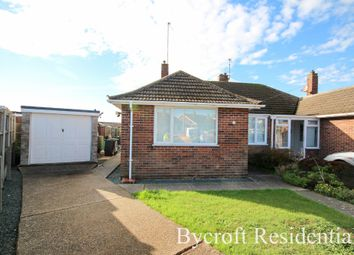 Thumbnail 2 bed semi-detached bungalow for sale in Headington Close, Bradwell, Great Yarmouth