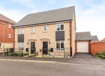 Thumbnail 3 bedroom semi-detached house for sale in Cherry Tree Road, Didcot