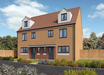 "Thumbnail 4 bedroom semi-detached house for sale in ""The Leicester "" at St. Catherine Road, Basingstoke"