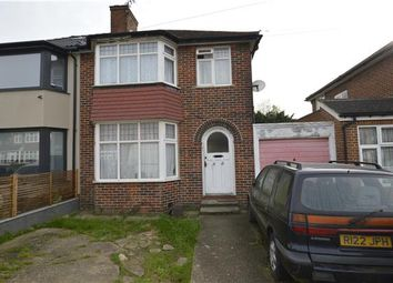 Thumbnail 3 bed semi-detached house for sale in Braemar Gardens, Colindale