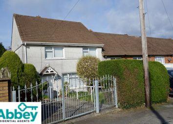 Thumbnail 3 bed end terrace house for sale in Penybryn, Cimla, Neath