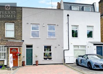 Thumbnail 3 bed terraced house for sale in Crescent Road, Warley, Brentwood