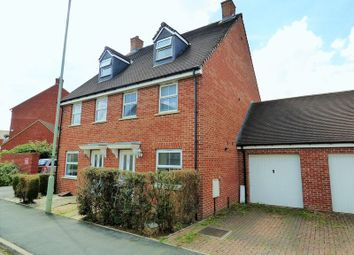 Thumbnail 3 bed semi-detached house for sale in Thatcham Avenue Kingsway, Quedgeley, Gloucester