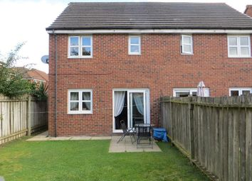 Thumbnail 3 bed semi-detached house for sale in Elvaston Park, Kingswood, Hull